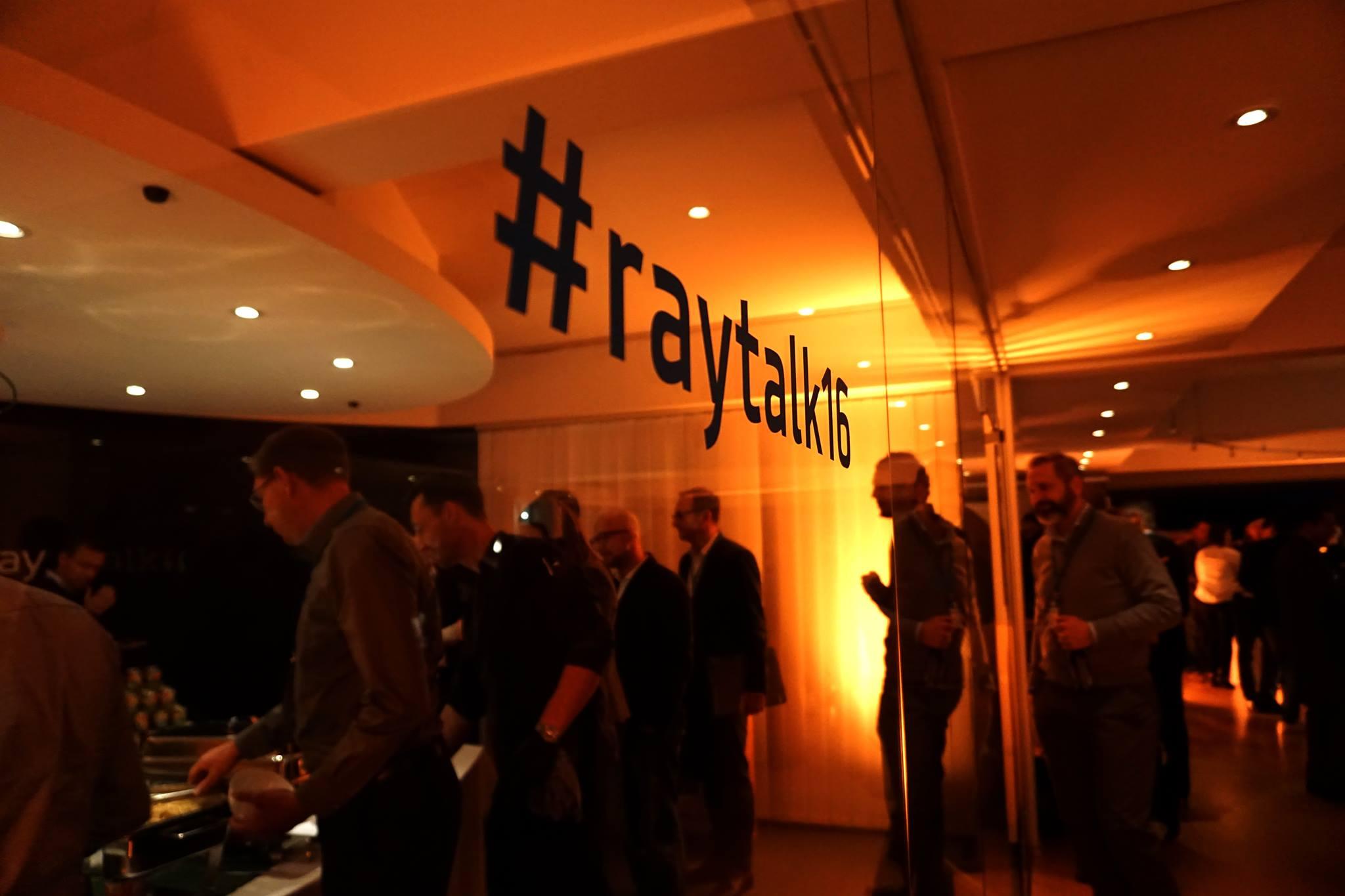 Bastian Deurer beim RayTalk 2017 Data Driven Marketing