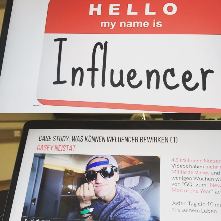 Screen Influencer Marketing Vorlesung Bastian Deurer